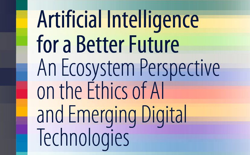 Decorative image with text: Artificial Intelligence for a Better Future